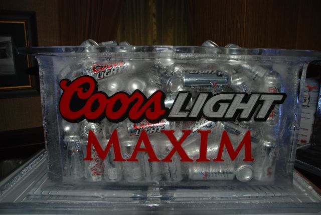 Coors Light Maxim Silver Bullet Showdown Calgary Icing